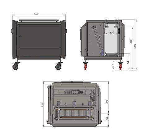 BERNHARDT - Design Vertical Vacuum Packing Chamber