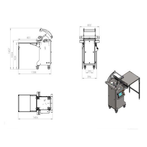 BERNHARDT - Design Horizontal Pharma Vacuum Sealer