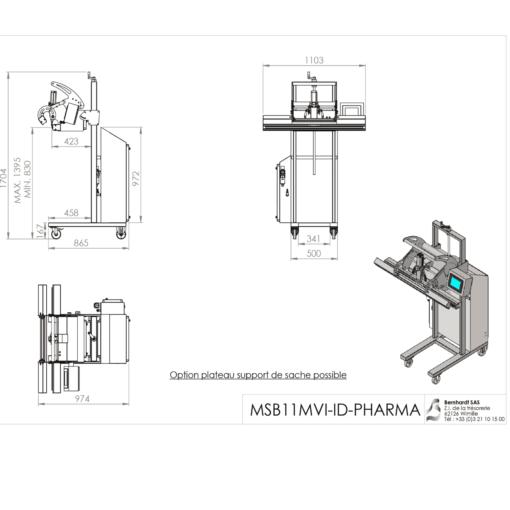 Détail machine MSB11MVI-ID-PHARMA