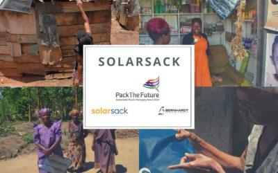 LA SOLARSACK A GAGNE LE PRIX PACKTHEFUTURE 2020