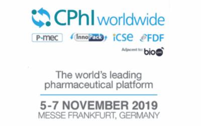 CPHI WORLDWIDE TRADE SHOW  5-7 NOVEMBER 2019