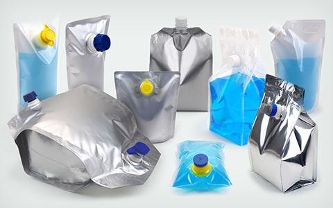 emballage souple sac-poche produit liquide pateux